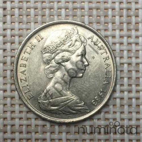 Belgium 1 Franc 1967 KM-142 VF