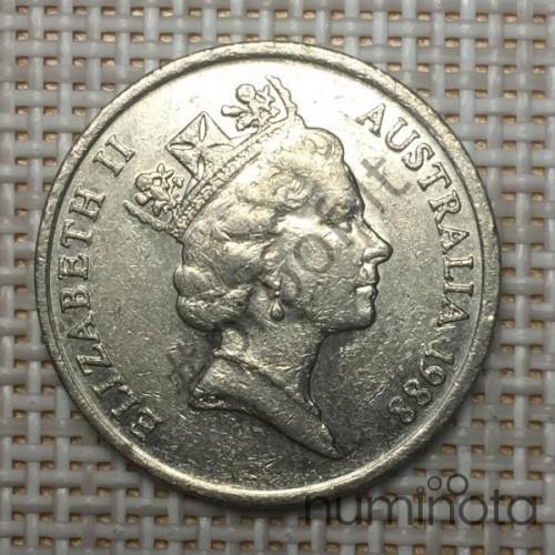 Belgium 5 Francs 1986 KM-164 VF