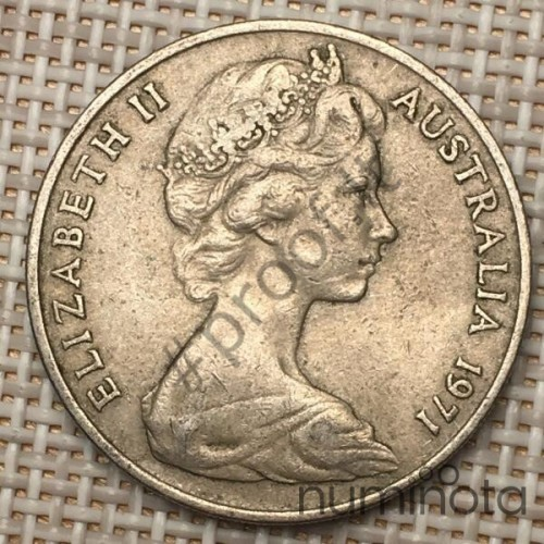 Belgium 10 Francs 1974 KM-155 VF