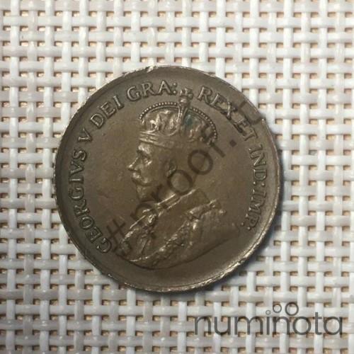 Cyprus 5 Cents 1991 KM# 55.3 VF