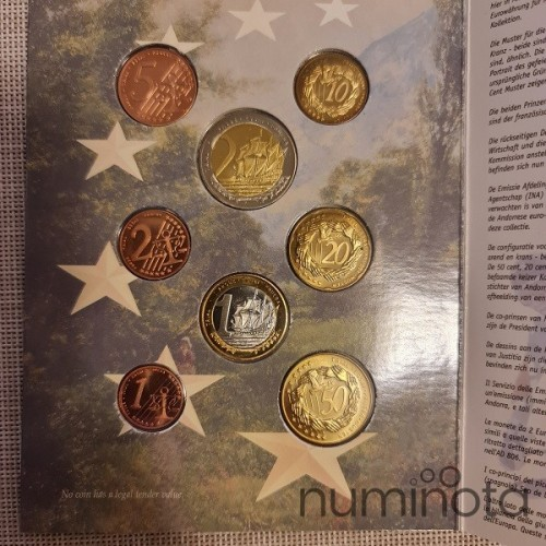 Benelux Euro Pattern Set (3,88) 2005 BU